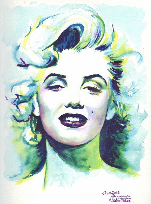 Marilyn Monroe by CornelieStatiusM